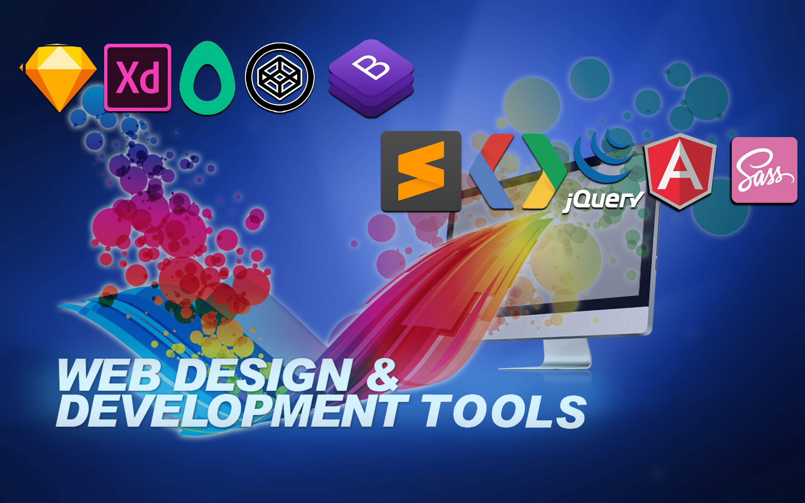Best 5 Web Design and Development Tools | TOSHOST LTD