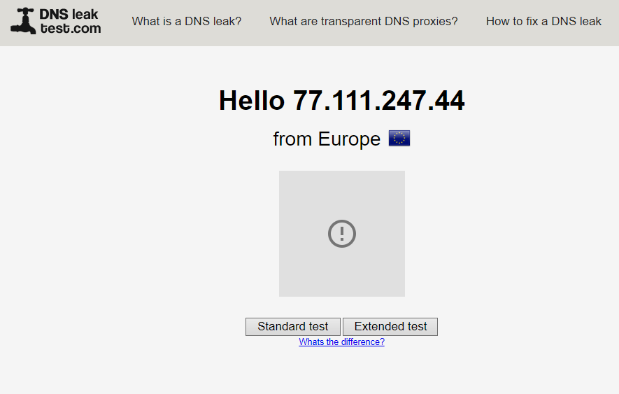 DNS-Leak-IP-Checker