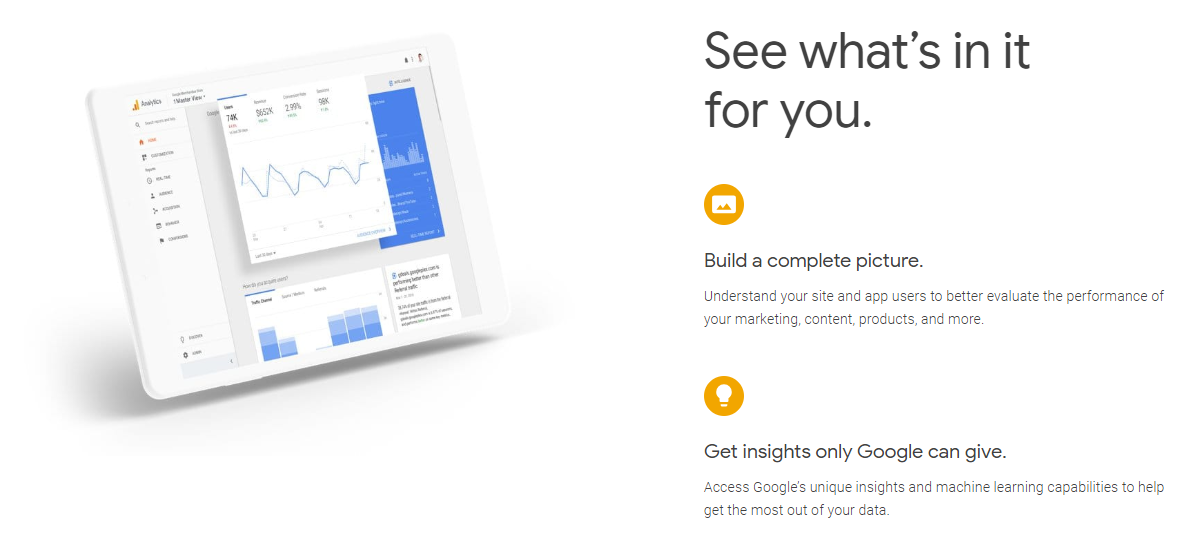 Analytics Tools Google